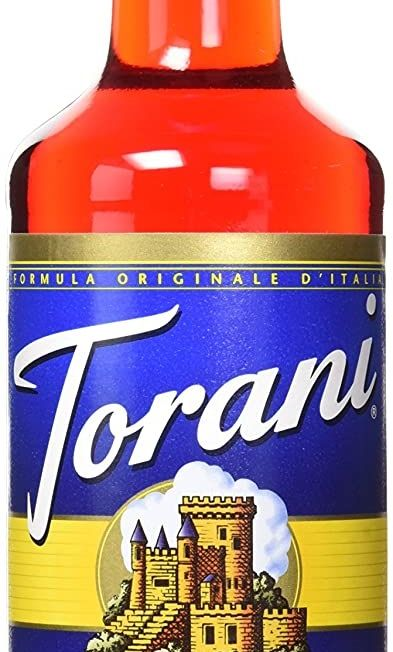 torani - 750ml - strawberry - sukkerfri