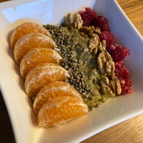 Hanfprotein-Porridge