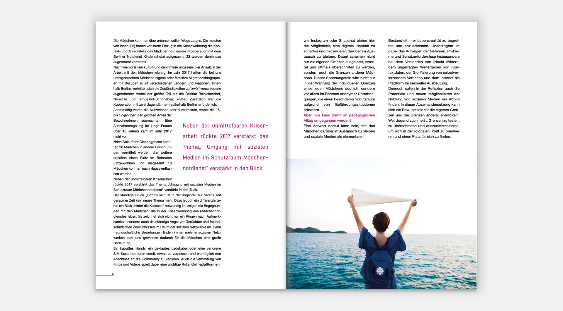 Wildwasser e. V. Jahresberichte 2017 - Seite 8-9