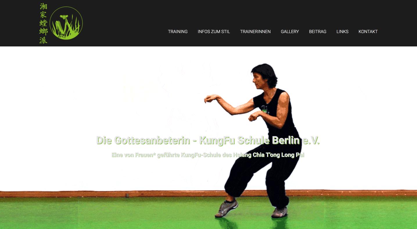 Mantis KungFu Berlin Startseite