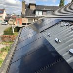 Sunpower Black ingebouwde panelen