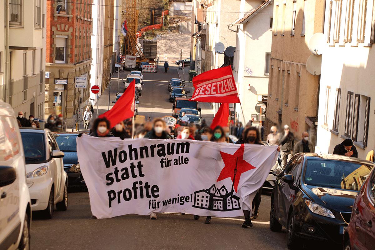 Housing-Action-Day-2021-Stuttgart-Mietenwahnsinn-Wohnungsnot-Kundgebung-Heslach-Solidaritaet-und-Klassenkampf-Gentrifizierung-Leerstand-Hausbesetzung-8