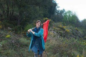 Karin Lindén flagga