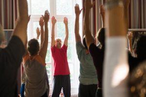 Kum Nye Yoga - praktik på retreat 8