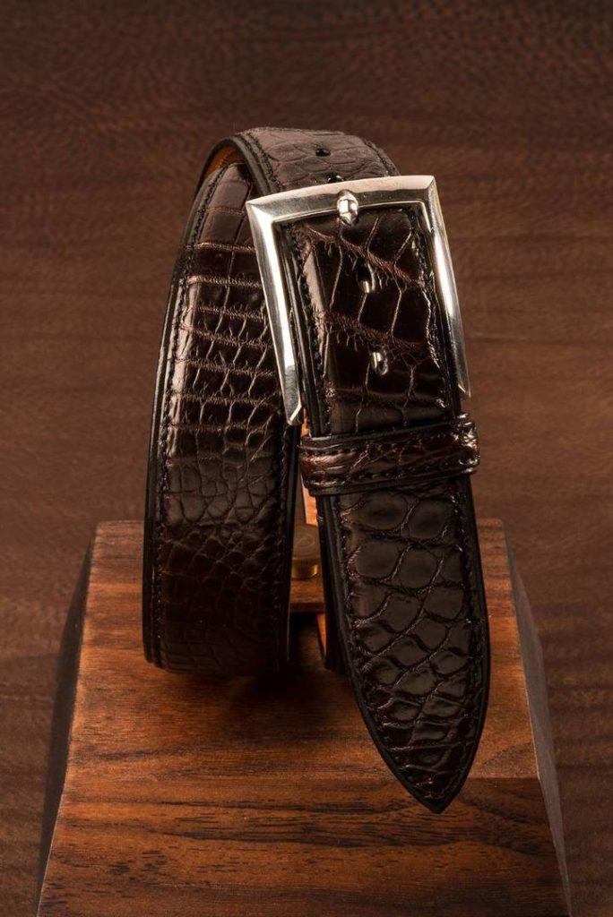1 Dess.04 mørk brun croco