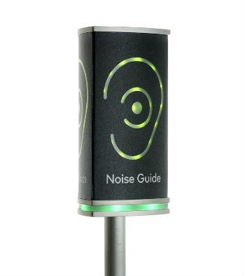 Noise Guide mål støj på kontoret