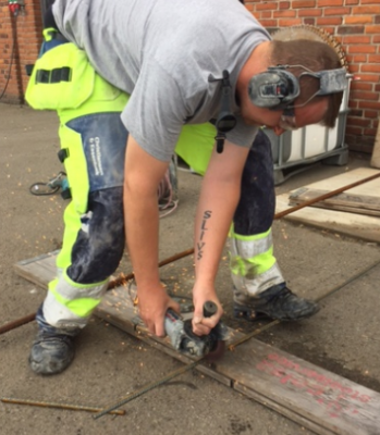 Støjpåvirkning hos nedrivningsarbejdere