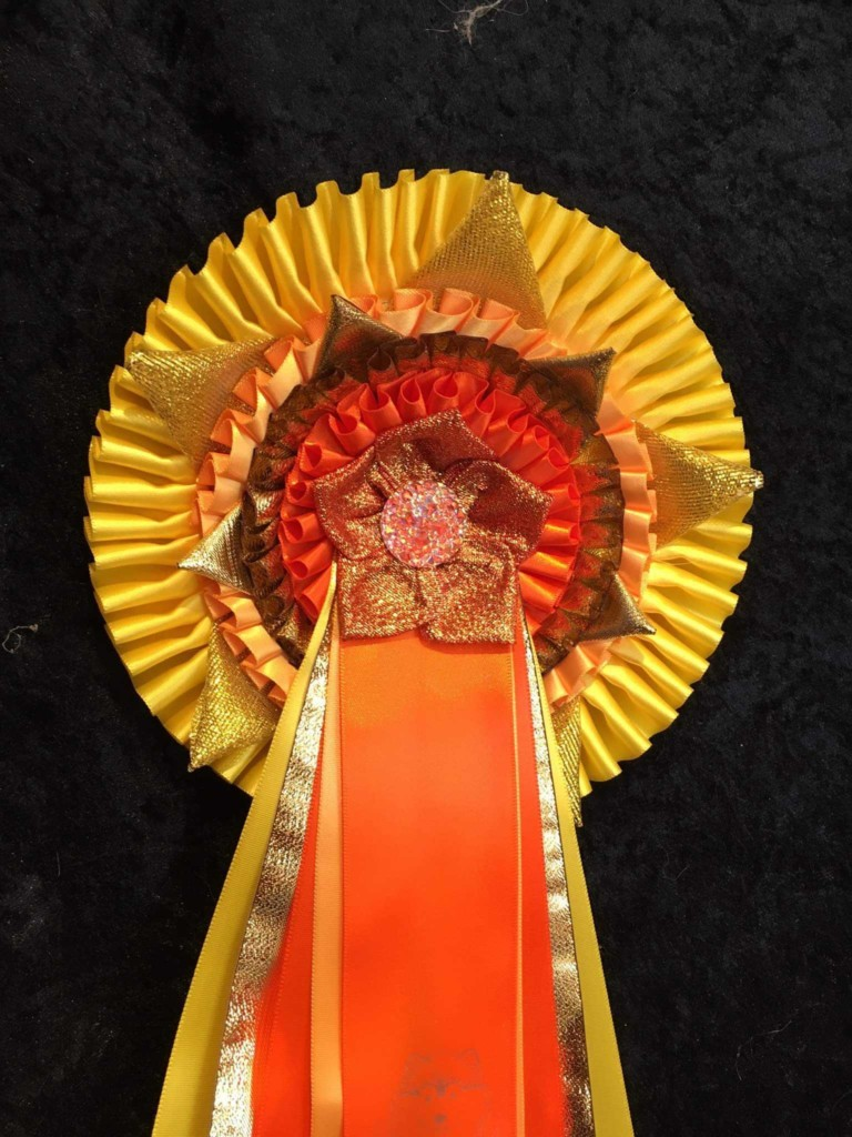 Special social distancing rosette