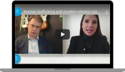 Philippa Southwell and Ben Douglas-Jones Discuss Human Trafficking and Modern Slavery Law on Bloomsbury Professional Podcast