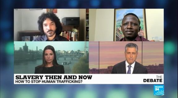 Philippa Southwell Appears on France24 for a Debate on Slavery in France