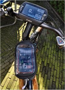 transparante bovenklep voor de mobiel