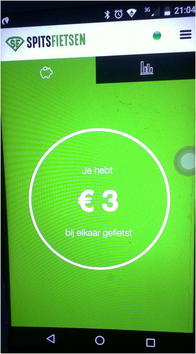 de eerst drie euro !