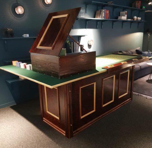 Casinobord Tärning butelj grön