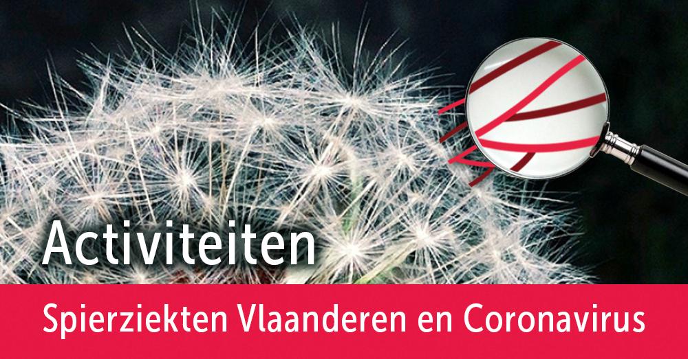 Corona-en-activiteiten Activiteiten Spierziekten Vlaanderen en Coronavirus