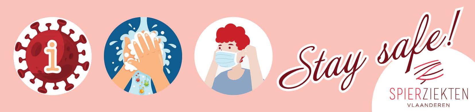 Stay-Safe-Live-ontmoetingen-Spierziekten-Vlaanderen-vzw Spierziekten en Coronavirus