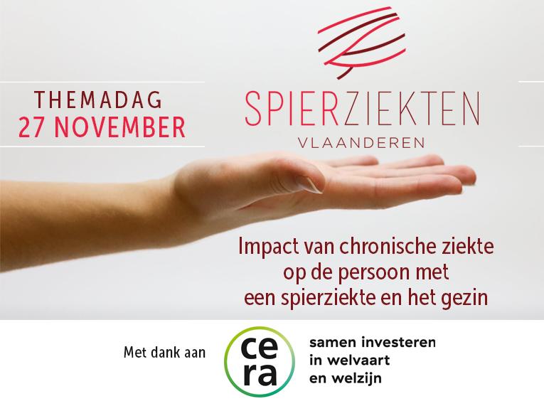 Themadag: Impact van chronische ziekte op de persoon met een spierziekte en het gezin