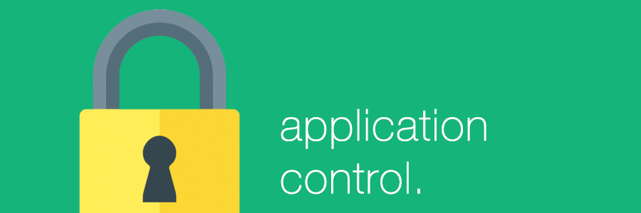 Good practice, Part 3: Application control on Windows clients