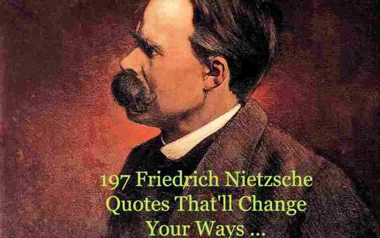 21 Friedrich Nietzsche Quotes That'll Change Your Ways ...