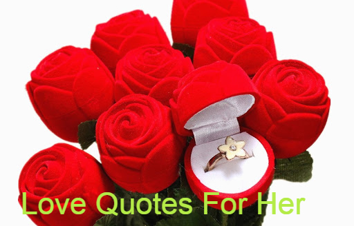 Love Quotes For Her About Romatic, Deep, smile, Cute, Unconditional, Friendship at starsquotes