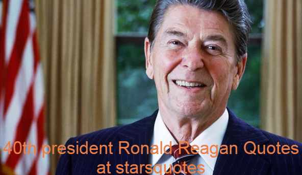 Ronald Wilson Reagan, February 6, 1911 – June 5, 2004) was an United states politician who worked from 1981 to 1989 as the 40th president of the United States, becoming a highly prominent voice of modern conservatism. He was a Hollywood actor and union activist prior to his presidency, before serving as California's 33rd governor from 1967 to 1975. Reagan was born in small towns in northern Illinois, in a low-income household. Ronald Reagan Quotes, Bio, Image