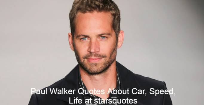 Paul William Walker IV (September 12, 1973-November 30, 2013) was an American actor best known for his role in The Fast and the Furious franchise as Brian O'Conner. Walker began his career as a child actor in the 1970s and 1980s, but was first recognized in the early 1990s after appearing in The Young and the Restless, a television soap opera. He soon became a director, and in 1999 he won acclaim for his roles in the teen movies She's All That and Varsity Blues, which helped to kick off his career.