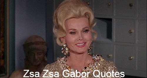 """Hungarian and American actress and socialist Zsa Gabor (February 6, 1917-December 18, 2016). The actrices Eva and Magda Gabor were her sisters. His stage career began in Wien and Miss Hungary was awarded the prize in 1936. In 1941 she emigrated to the USA from Hungary. She was considered to have a personality which """"exuded charm and grace"""" as a successful actress with """"Western flair and style."""" Her first film role in Lovely to Look At was a supporting role. In We are Not Married, she later acted! And she played one of her few leading roles, Moulin Rouge (1952), in the John Huston movie. Later Huston would call her a """"creditable"""" actress. Apart from her performing career, Gabor was known for her extravagant, glamorous lifestyles and many marriages. Gabor's total of 9 husbands included Conrad Hilton, the hotel magnate, and actor George Sanders. She once proclaimed, """"People always liked me and I liked people always. But I love a mannish man, a man who knows how to communicate with a woman and deal with her, not a man with muscles."""""""