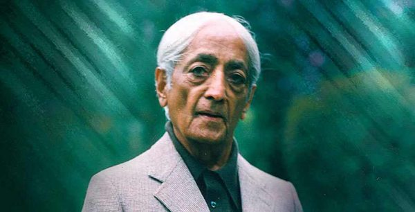 The Indian philosopher, speaker and writer Jiddu Krishnamurti, 11 May 1895-17 February 1986. He was born as the new World Teacher in his early life, but later refused to accept this coat and retired from the Theosophy organization.