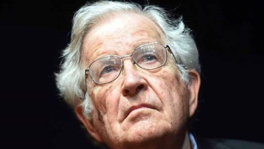 """The American linguist, philosopher, cognitive scientist, historian, social critic and political activist Avram Noam Chomsky (b. December 7, 1928) has become an American. Chomsky is also a key character in analytical philosophy and one of the founding men of cognitive science, sometimes referred to as """"the father of modern linguistics."""" He is also a co-author of over 100 books on linguistics, war, politic and mass media."""