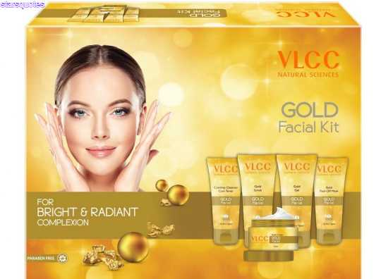 Steps To Apply VLCC Gold Facial Kit And Ingredients