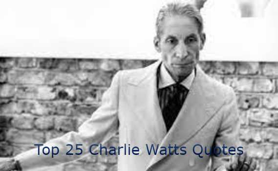 Charlie Watts Quotes
