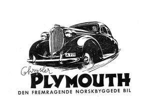 Kambo-Plymouth – 1930-tallets  «Think»