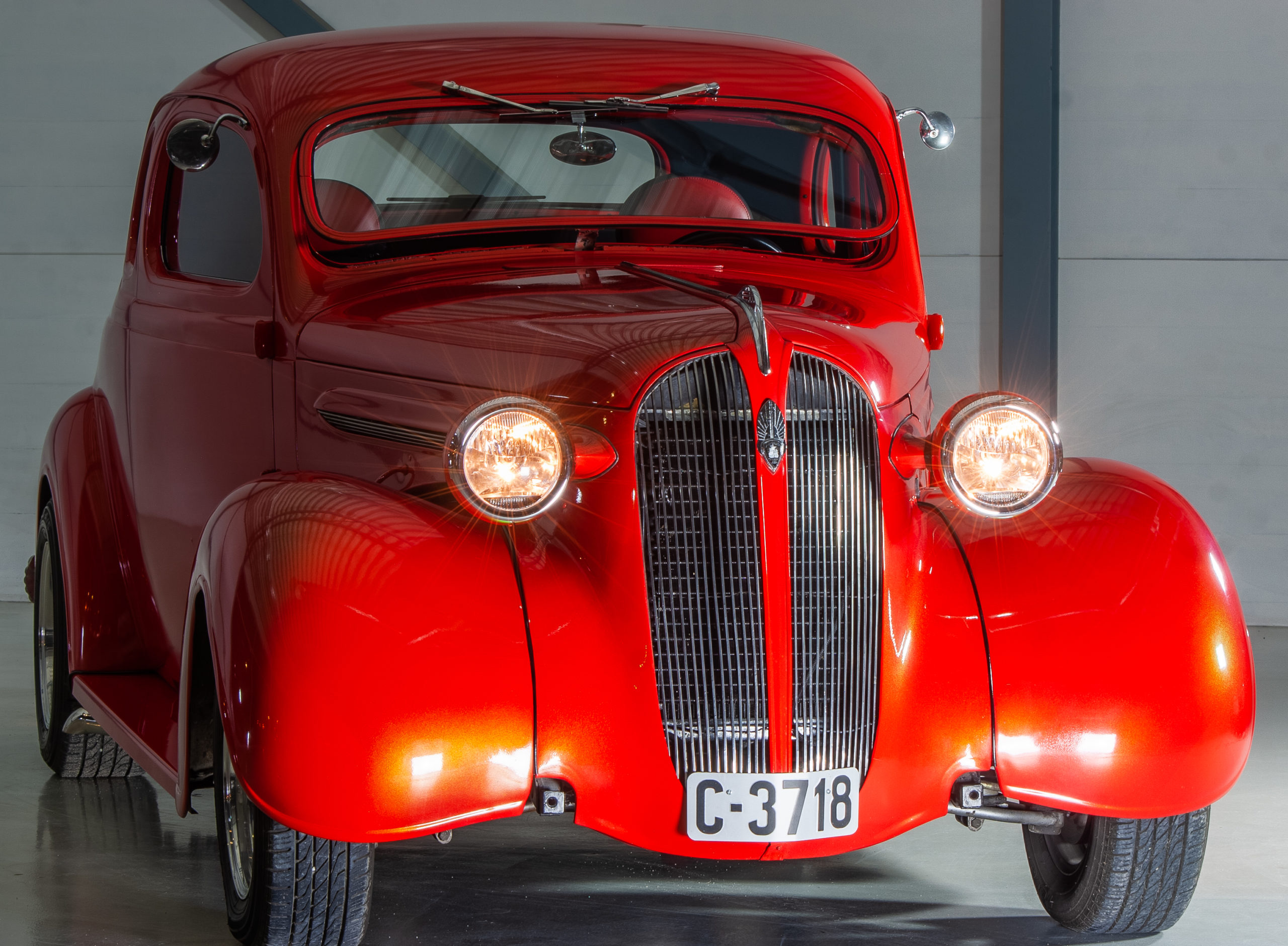 1937 Plymouth Business Coupe – den eneste av 551.994