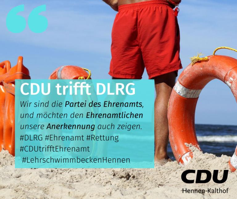 CDU trifft DLRG