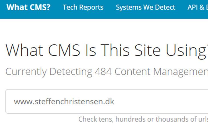 Sådan finder du ud af hvilket WordPress tema og plugins siden bruger