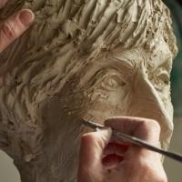 Arbejde med Lise Nørgaard buste