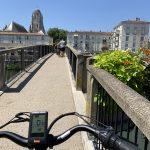 Saintes, par vélo