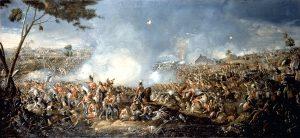 De Slag bij Waterloo door William Sadler.