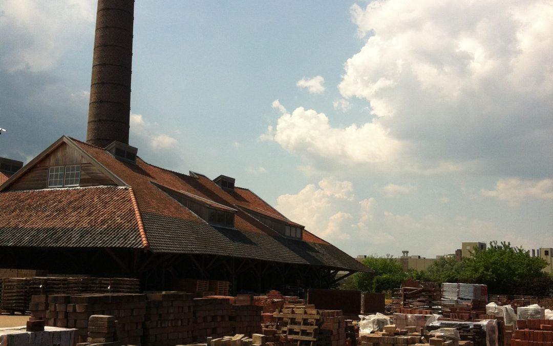 Nostalgie in een oude steenfabriek