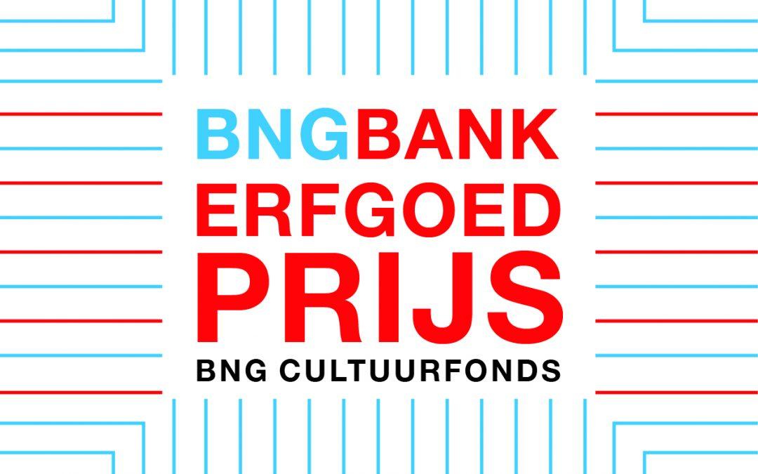 Symposium en uitreiking BNG Bank Erfgoedprijs 2018