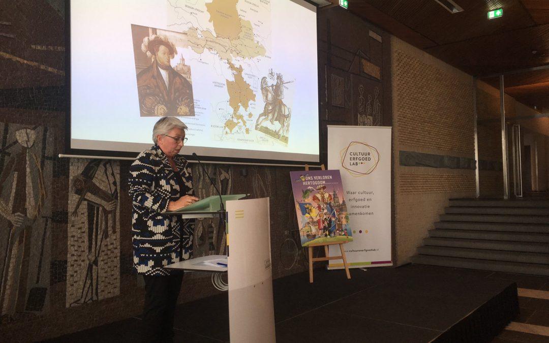 Toespraak bij presentatie stripboek 'Ons verloren hertogdom'