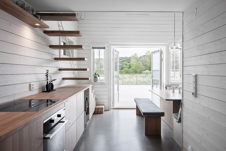 platsbyggt, finsnickeri, Ballingslöv, kök, custom made,