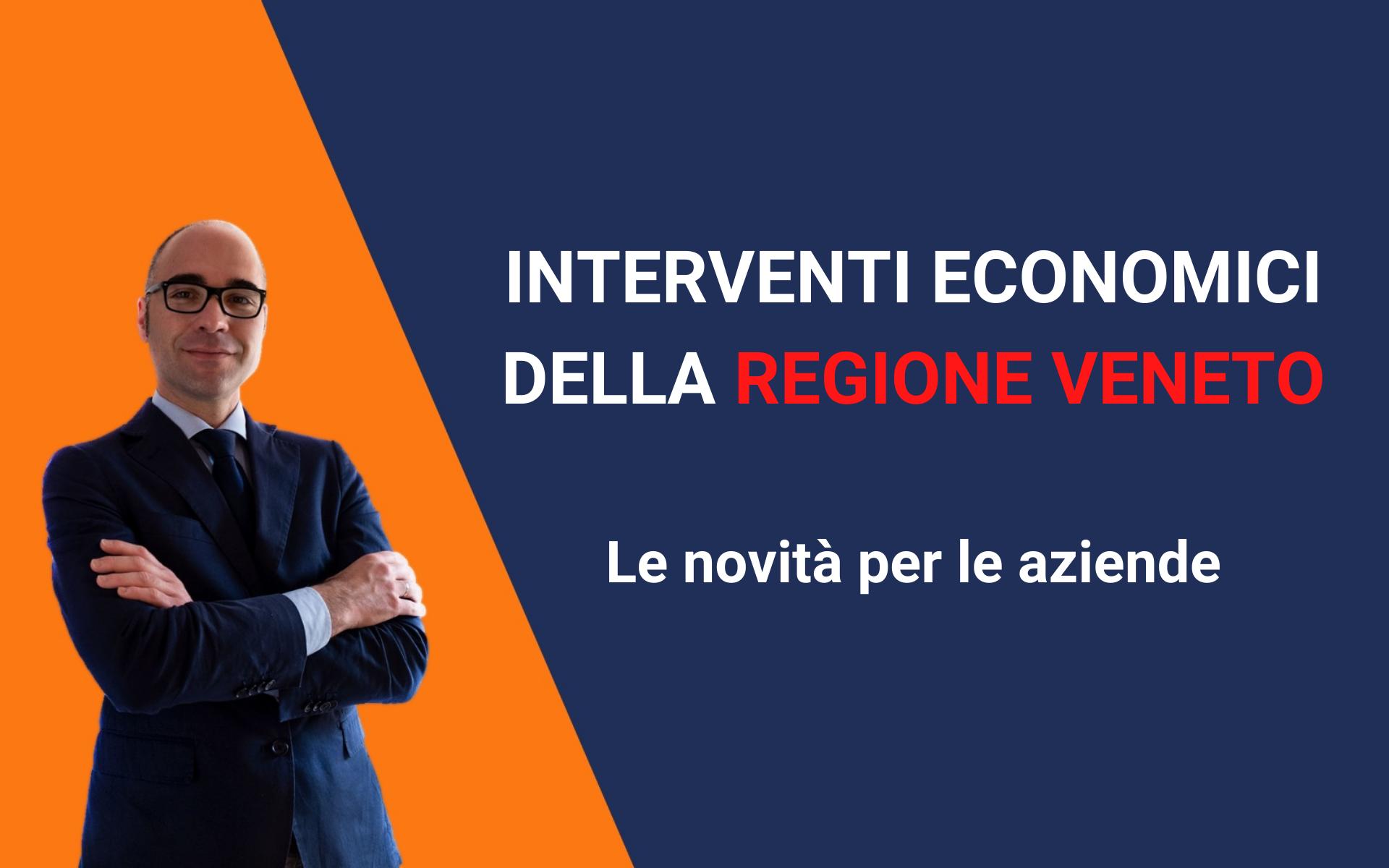 interventi economici regione veneto