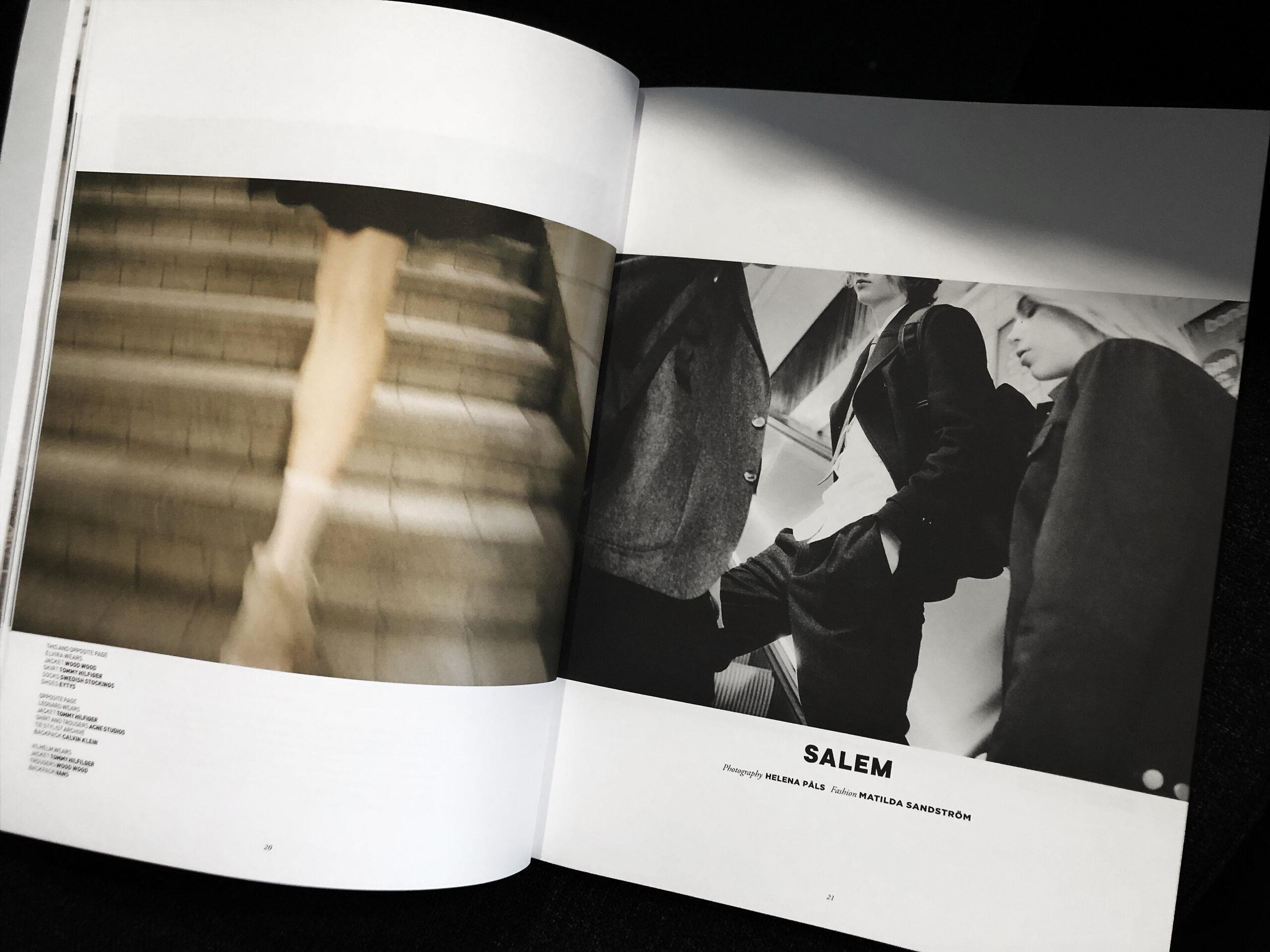 Tidningsuppslag Boys by Girls - fotograf STUDIOSEXTON