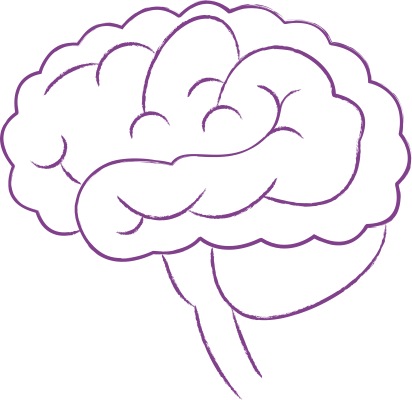 purple-brain