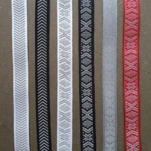 band textilband textil reflex leksandsband vavdaband