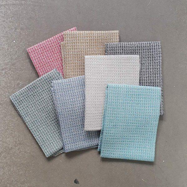 bubble handduk linnehandduk linne lin badrumstextil badtextil badhandduk textil