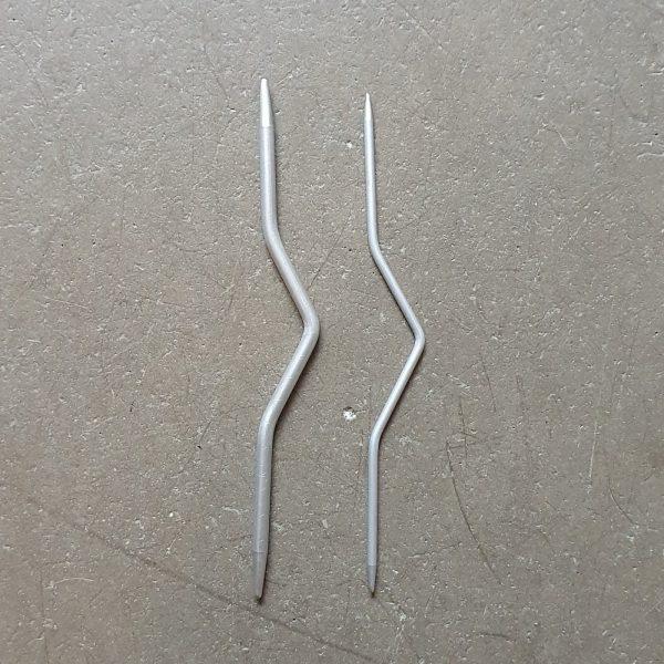 sticka stickning nal flata flatstickning stickor