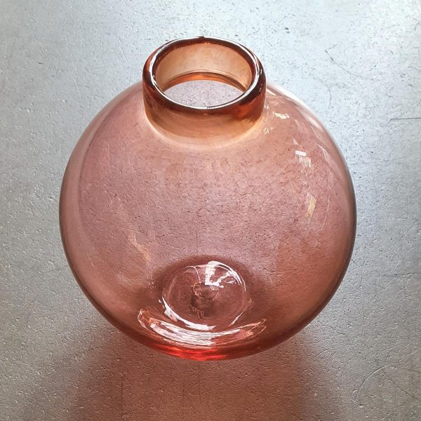 glasvas present svenskt glas handgjord unik hantverk konsthantverk