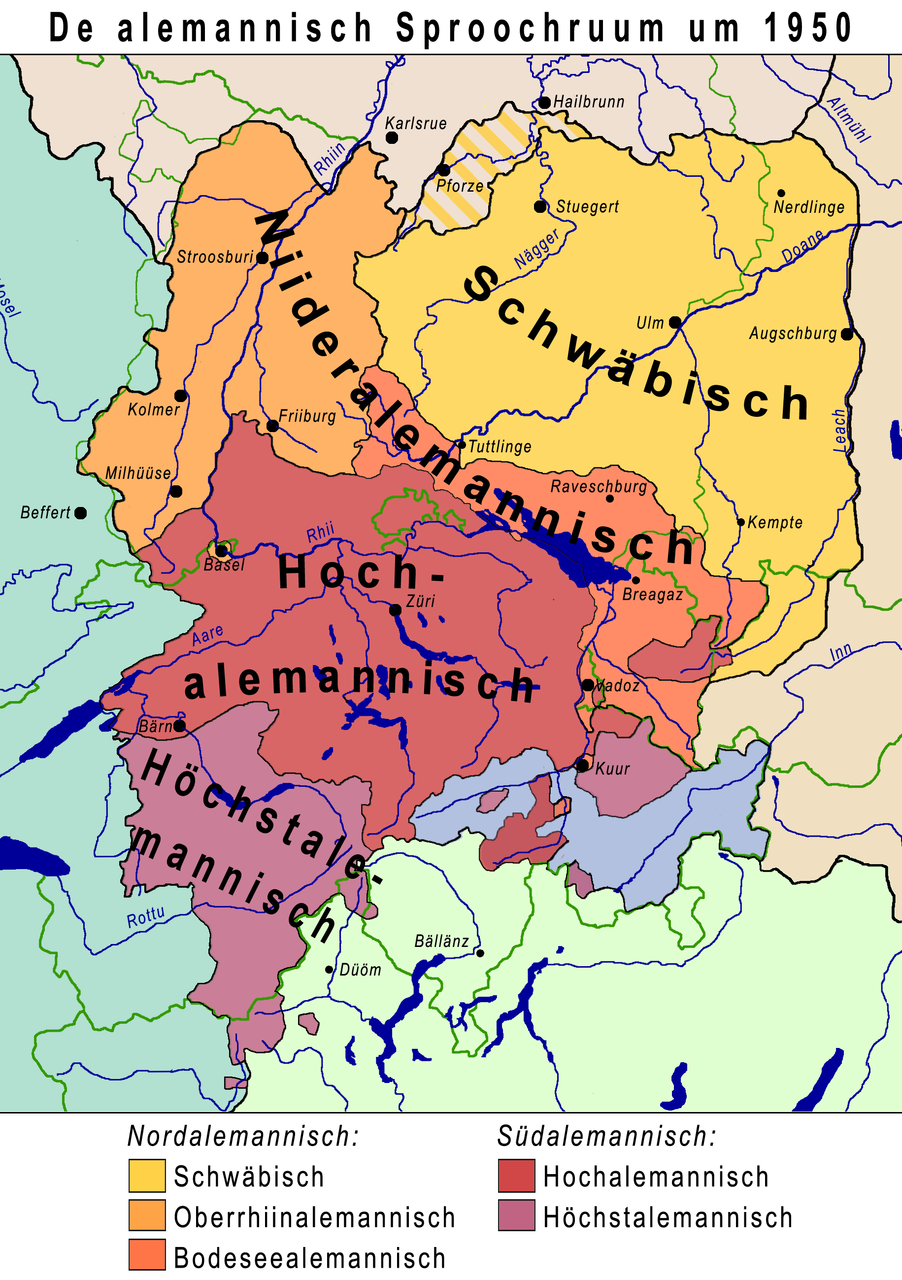 Der Alemannische Sprachraum [7]