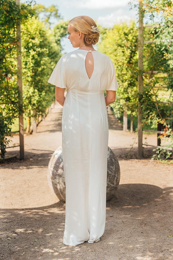 skræddersyet romantisk brudekjole